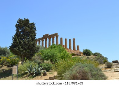 Valley of the Temples at Agrigento The Temple of Juno - Sicily, Italy