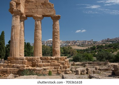 The  Valley of the Temples is an archaeological site in Agrigento, Sicily, southern Italy. It is one of the most outstanding examples of Greater Greece art and architecture.