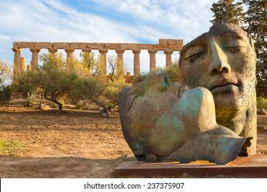 Valley of the Temples, Mitoraj, Agrigento, Sicily, Italy