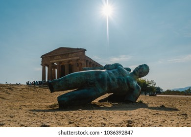 Valley of Temples near Agrigento, Sicily