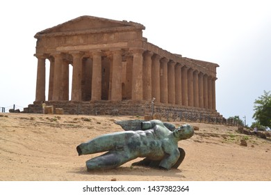 Valley of temples sicily Italy