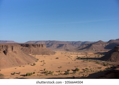 Valley of Tirjit in the Adrar region, close from Atar, Mauritania.