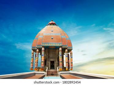 valluvar kottam,auditorium, monument in chennai, tamil nadu, india