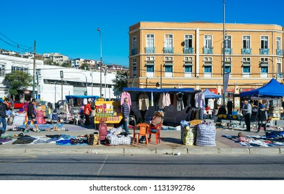 Valparaiso City, Quinta Region, Chile. Mayo 21, 2017. Important Port City of Chile, famous for its ancient architecture and unique in the world.