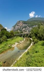 Valsugana (Sugana Valley) and the River Brenta, Trentino Alto Adige, Borgo Valsugana, Italy, Europe