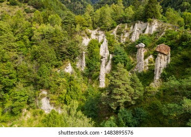 Valtellina (IT) - Natural Park of the Postalesio Pyramids