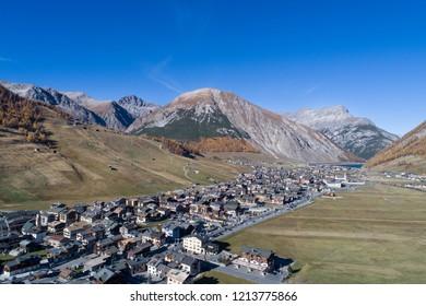 Valtellina, ski station of Livigno