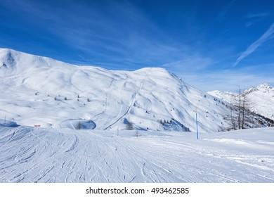 Valtellina's ski slopes