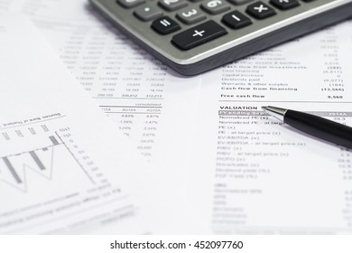 Valuation, business accounts