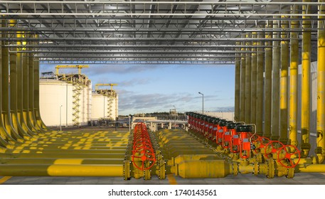 valve in the LNG gas transmission system