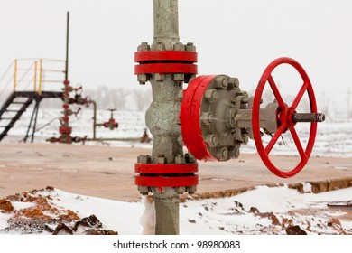 Valve on pipeline