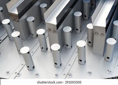 Valve tray, distillation column tray
