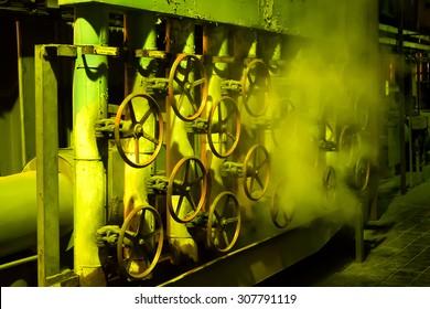 Valves in coal-fired power plant