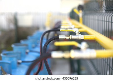 Valves for Lpg Gas Cylinders on Pipeline