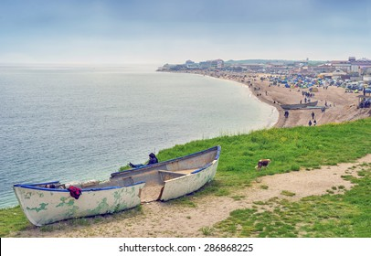VAMA VECHE, ROMANIA - MAY 01, 2014: Favorite touristic destination village for the beginning of summer season, in Constanta County, Romania. Famous for its nude beach and Stufstock music festival.