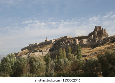 Van Castle in Eastern Anatolia, Turkey.