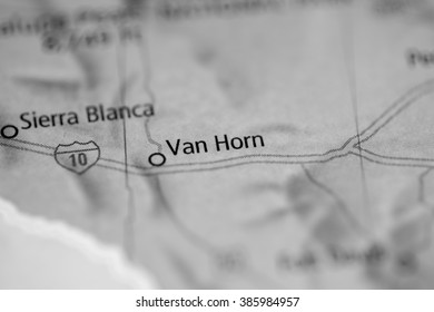 Van Horn. Texas. USA