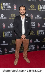 Van Maximilian Carlson attends 19th Annual Beverly Hills Film Festival, Hollywood, CA on April 3rd, 2019