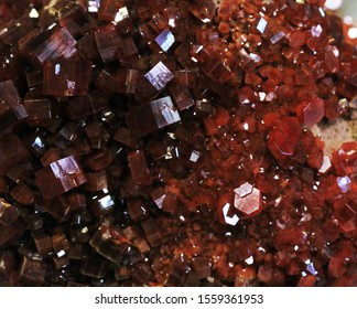 vanadinite mineral texture as very nice natural background