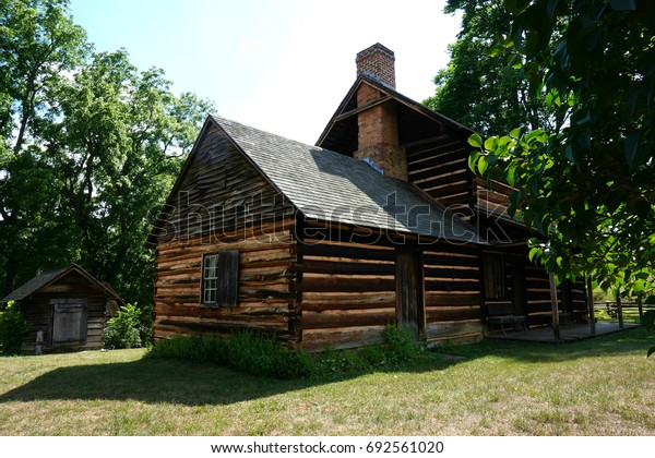 Vance Birthplace Log Cabin