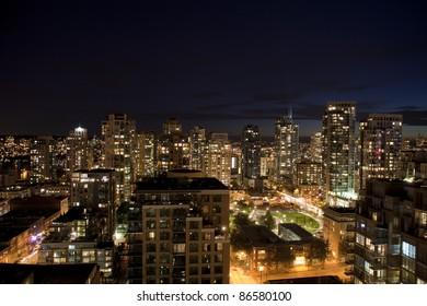 vancouver bc building landscape