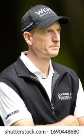 Vancouver, BC / Canada - July, 20th 2011: RBC Canadian Open - 2003 US Open Champion Jim Furyk in the Fairway.