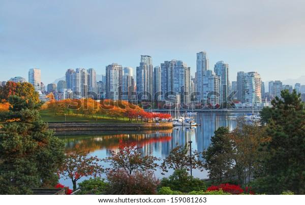 Vancouver in British Columbia, Canada