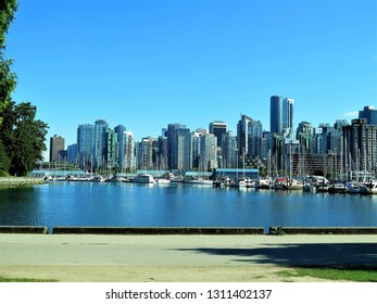 Vancouver, British Columbia / Canada - May 2016: Cityscape of Vancouver