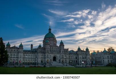Vancouver, British Columbia/Canada - September 14 2017: Legislative Assembly of British Columbia