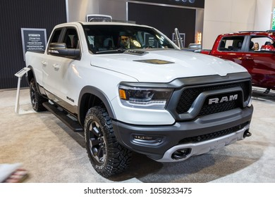 Vancouver, Canada - March 2018 : Dodge Ram