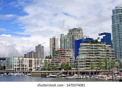 Vancouver City from Granville Island