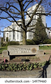 Vancouver CIty Hall A different view tall