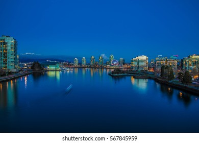 Vancouver City at Night - CANADA