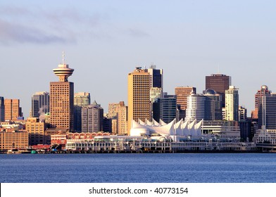 Vancouver City View at Sunset