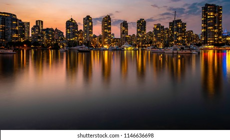 Vancouver Cityscape at Night
