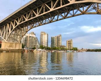 Vancouver Granville Island Bridge