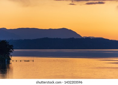 Vancouver Island Golden Sunset Ferry