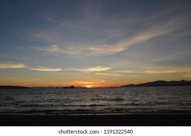 Vancouver island's view from Third Beach (Vancouver - Canada)