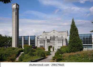 VANCOUVER - JULY 2015:  The University of British Columbia is ranked among the top 20 public universities in the world, located on a spectacular seaside campus, as seen in Vancouver in July 2015.