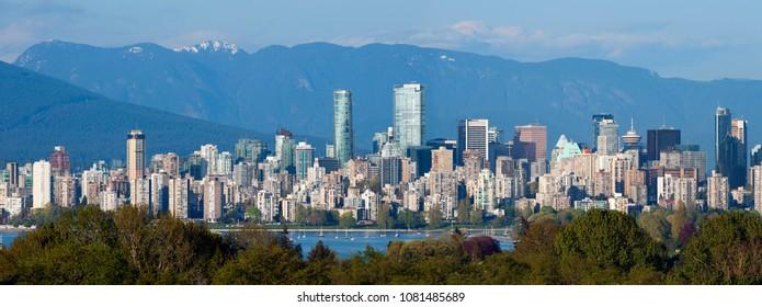 Vancouver Panoramic view at May 1, 2018