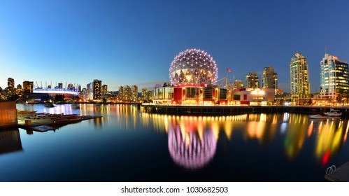 VANCOUVER - SEPTEMBER 25,2017 :The building's former name Science World in Vancouver is a science centre run by a not-for-profit organization in Vancouver, British Columbia, Canada.