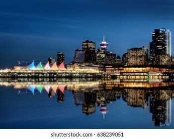 Vancouver Skyline Canada dwntown west end City