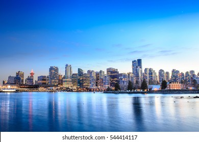 Vancouver Skyline from Waterfront View