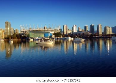 Vancouver at sunrise, British Columbia, Canada