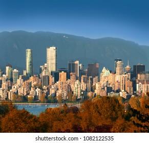 Vancouver view at May 1, 2018