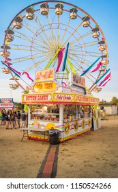 VANCOUVER, WASHINGTON/USA – AUGUST 5 2018: The Clark County Fair kicks off in full swing as fair goers take in the sights, sounds and smells.