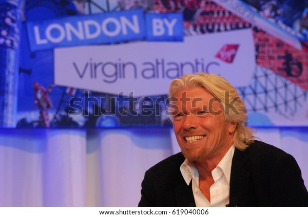VANCOUVER,CANADA-MAY 25,2012: Sir Richard Branson, founder of the Virgin Group, and one of the world's leading entrepreneurs, at a special luncheon event, May 25, 2012, Vancouver, Canada