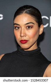 """Vanessa Garcia attends 19th Annual Horror Film Festival – ScreamFest - Opening Night """"Eat, Brains, Love"""" Los Angeles Premiere at TLC Chinese Theatre, Hollywood, CA on October 8, 2019"""