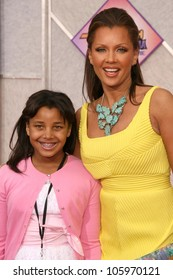 Vanessa Williams and daugher at the Los Angeles Premiere of 'Hannah Montana The Movie'. El Capitan Theatre, Hollywood, CA. 04-02-09
