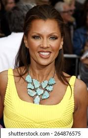 Vanessa Williams at the Los Angeles premiere of 'Hannah Montana The Movie' held at the El Capitan Theater in Hollywood on April 4, 2009.